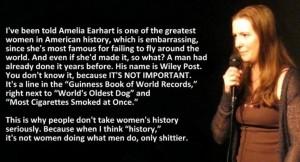 womens history comparison