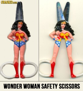 wonder woman safety scissors