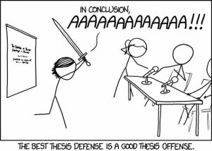 xkcd thesis defense