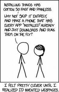 xkcd web pages