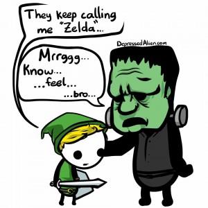 zelda and frank